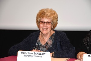 secrétaire générale Eliane Bannvard